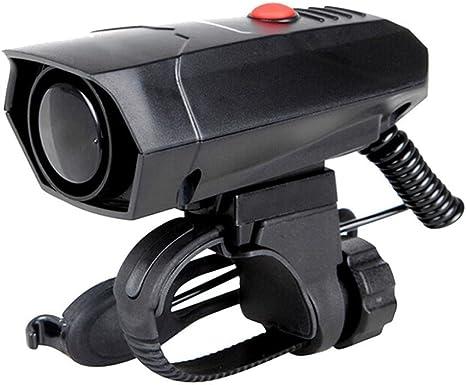 hunpta bicicleta Accesorios 6 sonidos electrónico de alarma para ...
