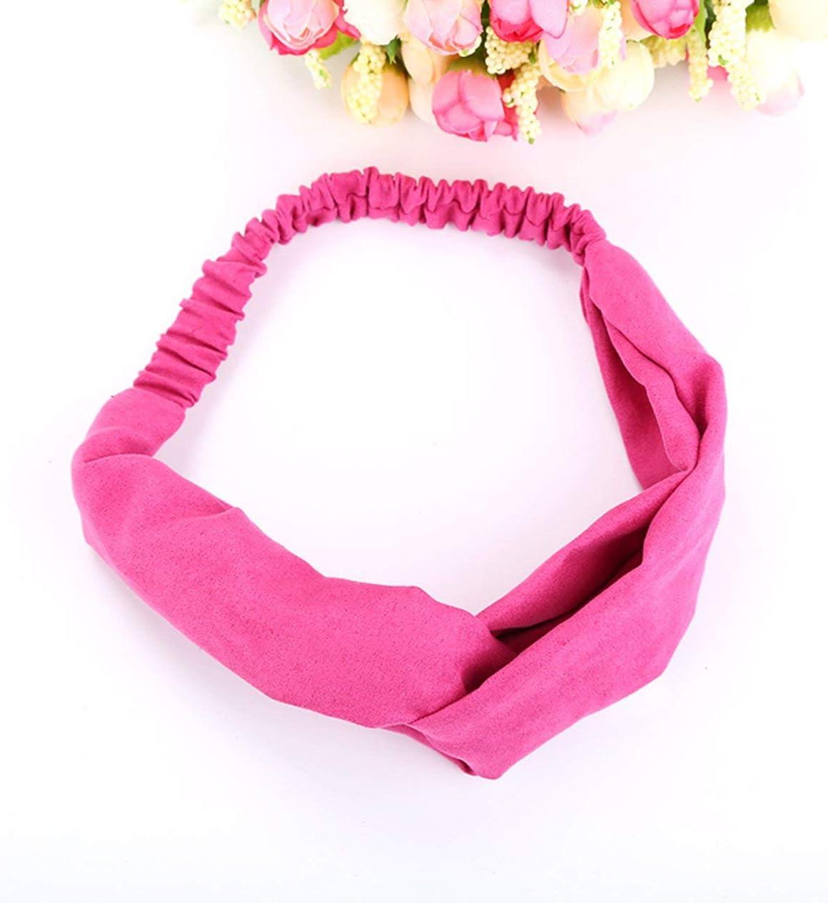 Women Girls Headband Headwear Multifunction Magic Scarf Head Wrap Sport Sweatband Workout Yoga for Sport /& Casual FD004
