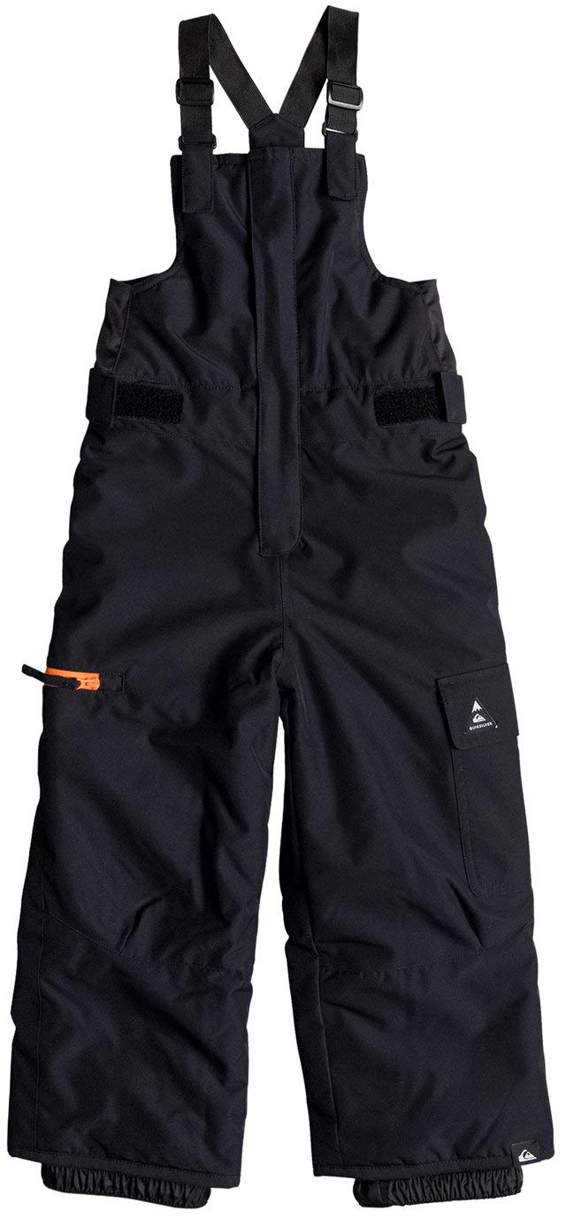 Quiksilver EQKTP03002 Boy's 2-7 Boogie Snow Pants, Black - 2