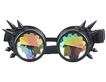 Lelinta Rainbow Steampunk Goggles