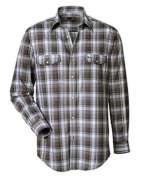 PARFORCE Camisa de Cuadros de Caza de montería Chevrons marrón, Large: Amazon.es: Deportes y aire libre