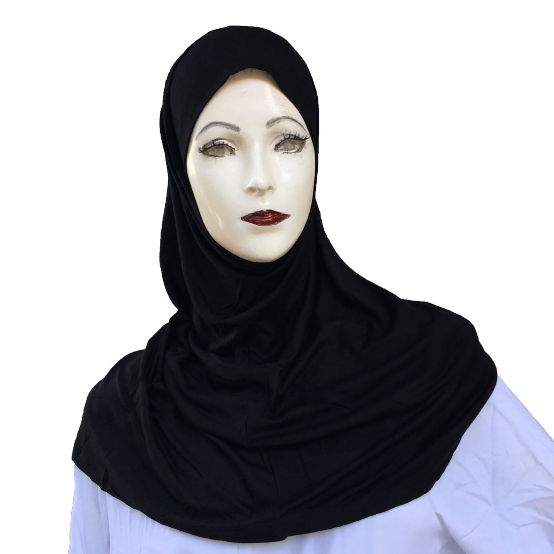 Hayaa Clothing 2 Piece Amira Hijab Light Weight Viscose (Black)