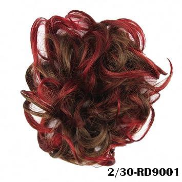 PrettyWit Hair Bun Updo Extensiones Hair Chignons Piece Wig Scrunchie Scrunchie Hairpiece Ribbon Ponytail Accesorios de