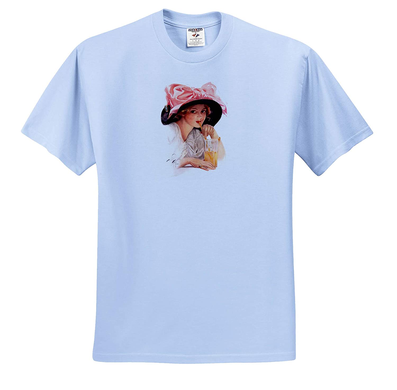 Harrison Fisher Harrison Fisher 3dRose VintageChest T-Shirts Refreshment