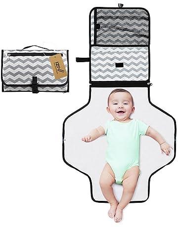 iZiv Cambiador Portátil de Pañales para Bebé - Kit Cambiador de Viaje - Bolso Cambiador Bebé