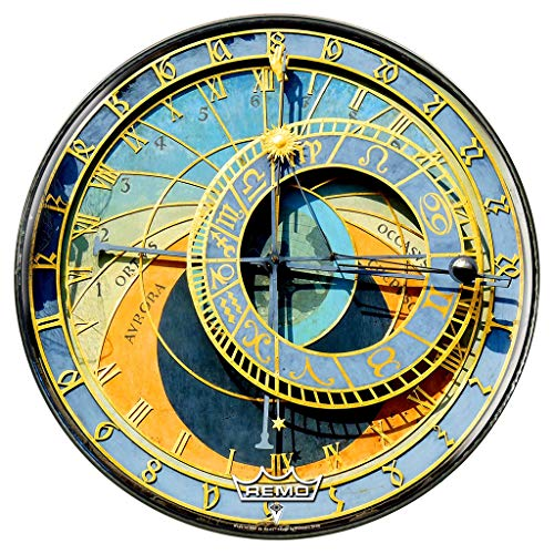 Astrological Clock Graphic Drum Head 22