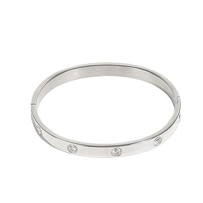 Parfois , Bracelet Stainless Steel , Femmes , Taille Unique , Argenté