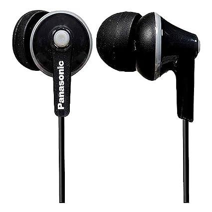 Panasonic RP-HJE125E-K Negro Dentro de oído Auricular - Auriculares (Dentro de