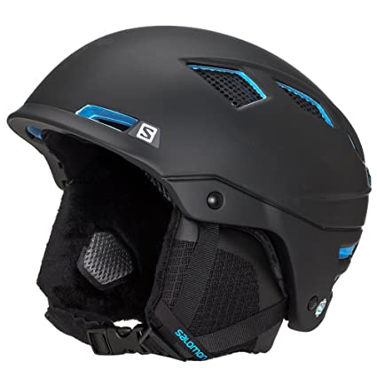 9fc9bba6951 Amazon.com: Salomon MTN Charge Snow Helmet - Men's Black (Small ...