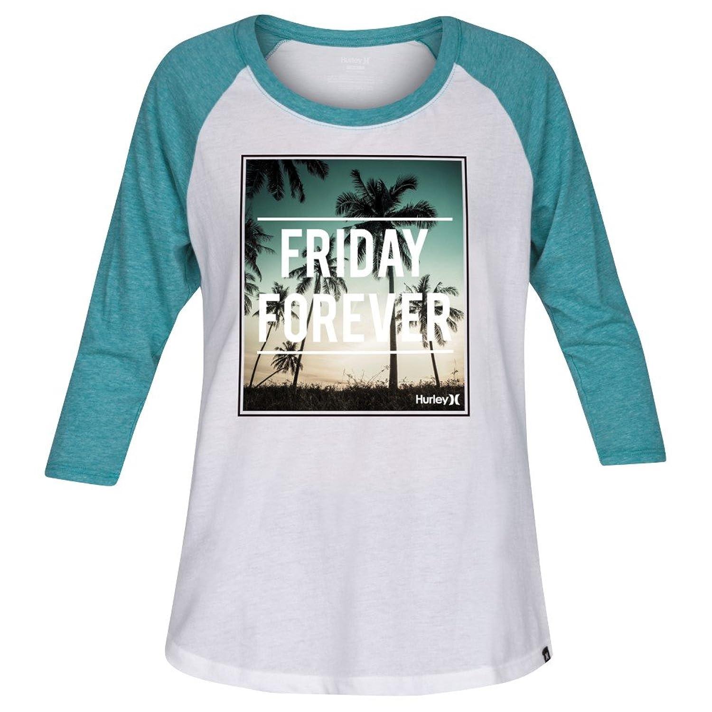 Hurley Womens Friday Forever Long Sleeve Raglan T-Shirt GTS0006800