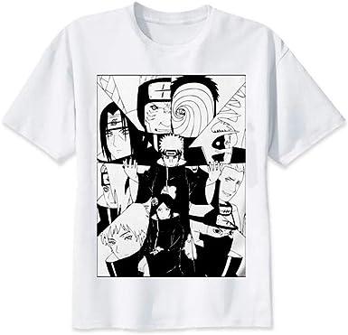 TSHIMEN Camisetas Hombre Slim fit Naruto 2019 Camiseta Japón ...