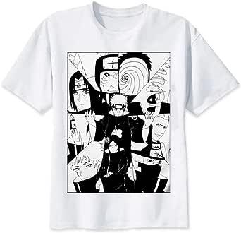 TSHIMEN Camisetas Hombre Slim fit Naruto 2019 Camiseta ...
