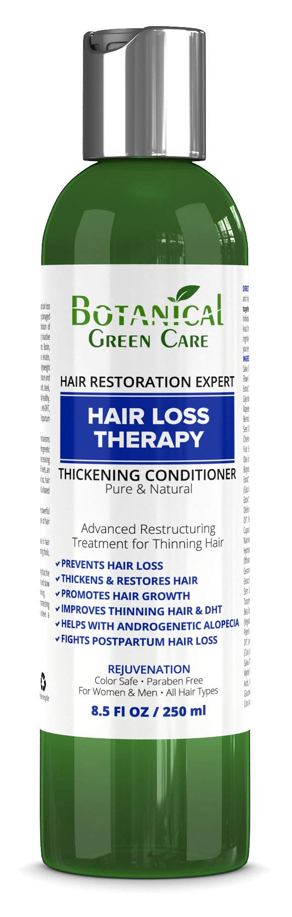 Hair Loss Therapy Hair Growth Anti-Hair Loss CONDITIONER. Alopecia Prevention and DHT Blocker. Doctor Developed. NEW 2018 FORMULA!