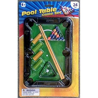 Miniature Pool Table Toy: Toys & Games