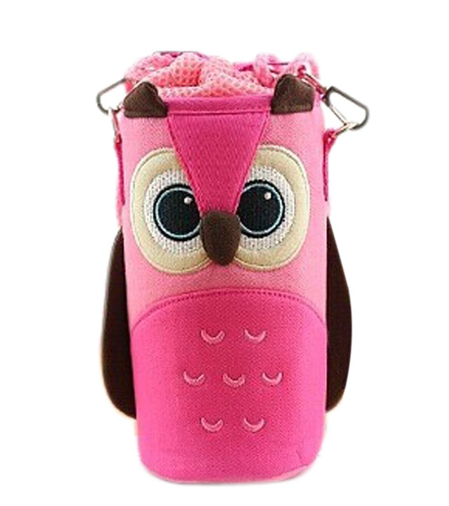 Lovely Baby Bottle Messenger Bag/Keep Warm (22*9*9CM), Pink Owl Panda Superstore PS-BAB322267011-HIROCO01018
