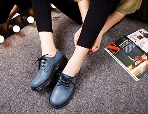 Zapatos azules Qiyun.z para hombre 5KDuHhoUDT