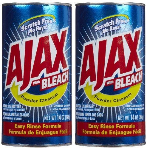 Ajax Powder Cleanser with Bleach - 14 oz - 2 pk ()
