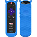 Protective Case for TCL Roku TV RC280 Remote, Silicone Cover Shock Proof Remote Controller Skin, Cute Cat Ear Shape Anti…