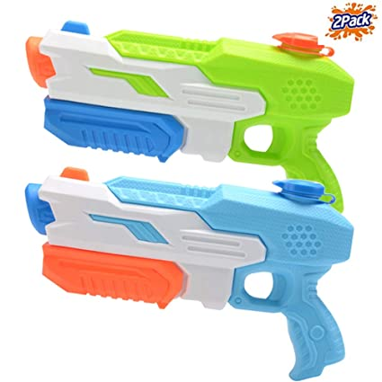 Mioshor Water Squirt Gun for Kids/Adults,Long Range Super Soaker Blaster  Cannon Guns Pool Toy for Summer Party Shooter,Water Pistol Toy for Cat/Dog