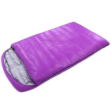 LOLIVEVE Saco De Dormir Tamaño Doble Al Aire Libre -10 ~ -25 Grados C Doble Bolsa Ancha Bolsa para Guardar: Amazon.es: Deportes y aire libre
