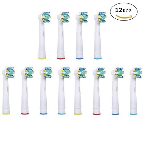 u-prime ® estándar de repuesto cabezales de cepillo Compatible con Cepillo de dientes eléctrico