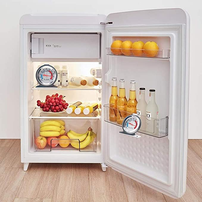Termómetros de nevera Lifreer 3PCS Acero inoxidable Refrigerador ...