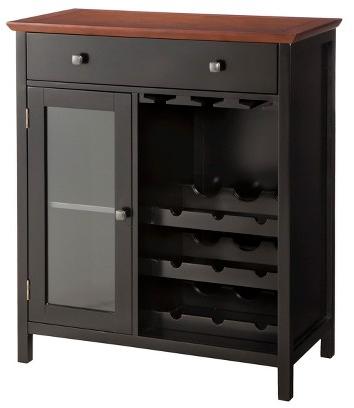 Marin Wine Cabinet Wood - 10 Spring Street : Target