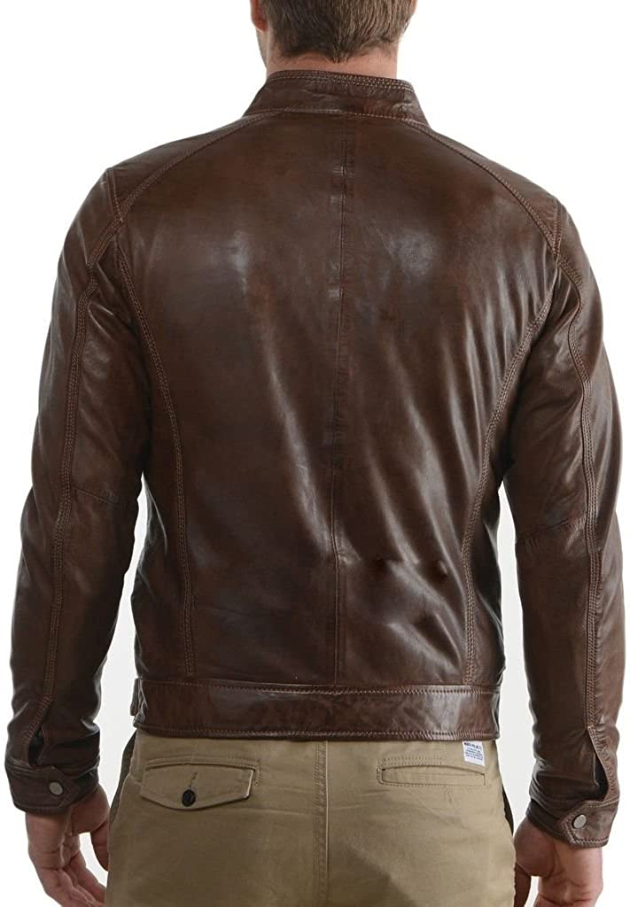 Western Leather Mens Leather Jacket