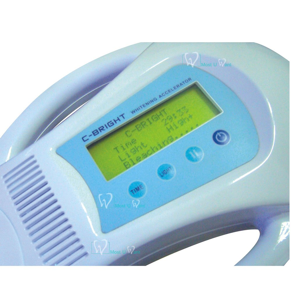 COXO® C-BRIGHT-I Dental Handheld LED Teeth Whitening Bleaching Light Accelerator Lamp 6000mw/cm2 6pcs LED by COXO (Image #7)
