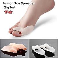 1par de Big Toe Bunion Separador de dedos (separadores Alivio del Dolor–Hallux Valgus Toe Gel