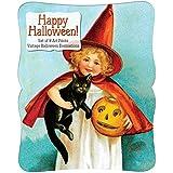 Happy Halloween - Vintage Decoration Print Set. (Print-Halloween)
