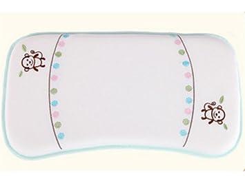 UHUA - Almohada de bebé para dormir (cómodo, algodón recién ...