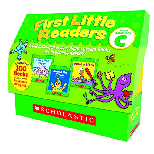 First Little Readers: Guided Reading Level C: A Big Collection of Just-Right Leveled Books for Beginning Readers by Scholastic Teaching Resources