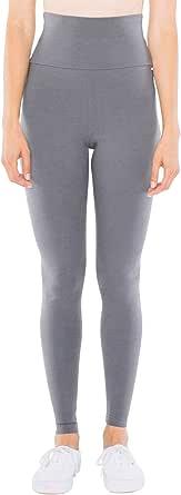 American Apparel Women's Cotton Spandex Jersey High-Waist Leggings