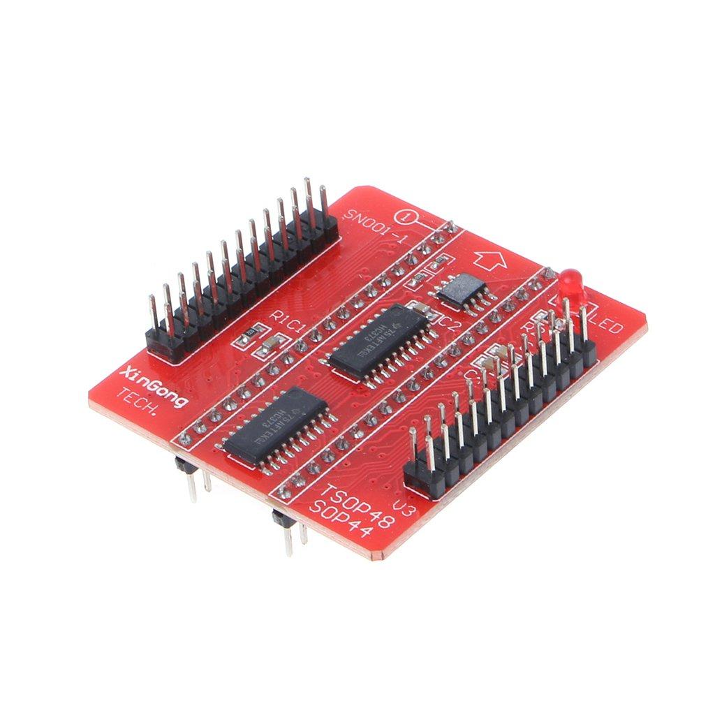 Anjuley V3 TSOP48 PSOP44 Adaptateur De Programmation USB Eprom DIP40 pour TL866CS TL866A