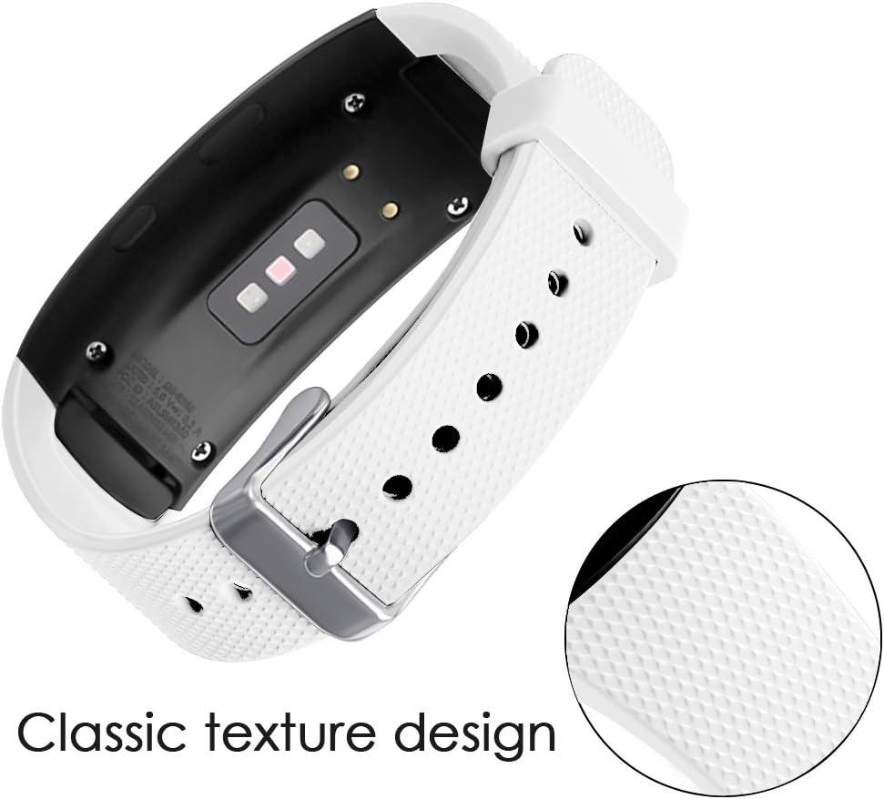 Malla Reloj Samsung Gear Fit2 Pro Sm-r365/fit2 Sm-r360 blanc