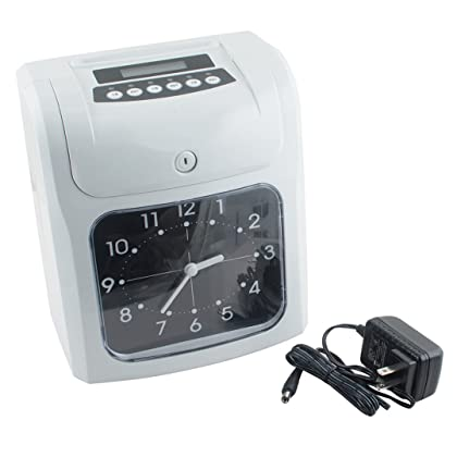 Vinmax electronic time clocks for small business time clock system w vinmax electronic time clocks for small business time clock system wcard monthlyweeklybi weekly colourmoves