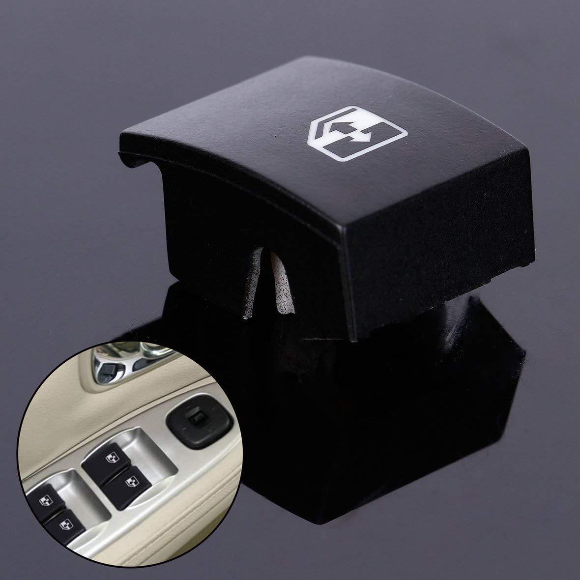 Heaviesk Para la Cubierta del bot/ón del Interruptor de la Ventana el/éctrica de Vauxhall Opel Astra Mk5 Zafira Tigra B