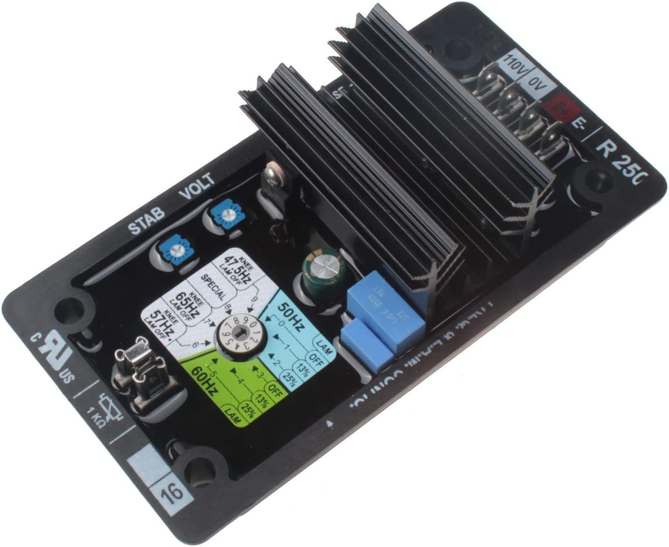 Friday Part AVR R250 Automatic Voltage Regulator Electronics Module with 1 Year Warranty