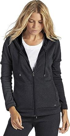UGG Women's Sarasee Hoodie Black Bear Heather Shirt