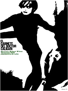 20x30 Decoration Poster Reproduction.Interior Design.Room Art.Dr.Caligari Cabinet Movie.7123