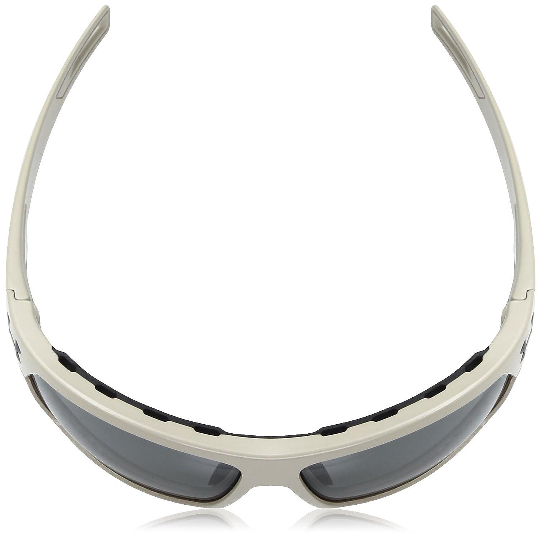 c90c45d60af9 Under Armour UA Battlewrap Rectangular Sunglasses, UA Battlewrap (Ansi)  Satin Sand / Black Frame / Gray Lens, 66 mm: Amazon.co.uk: Clothing
