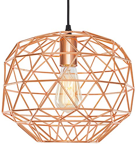 Light Society LS-C135 Caffrey Pendant Lamp, Copper