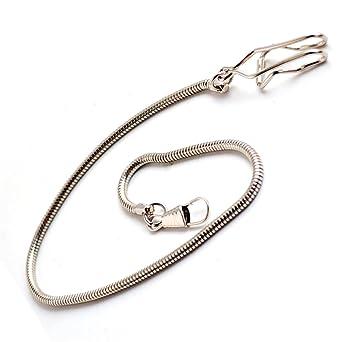 Amazon.com: boshiya decente reloj de bolsillo cadena Metal ...