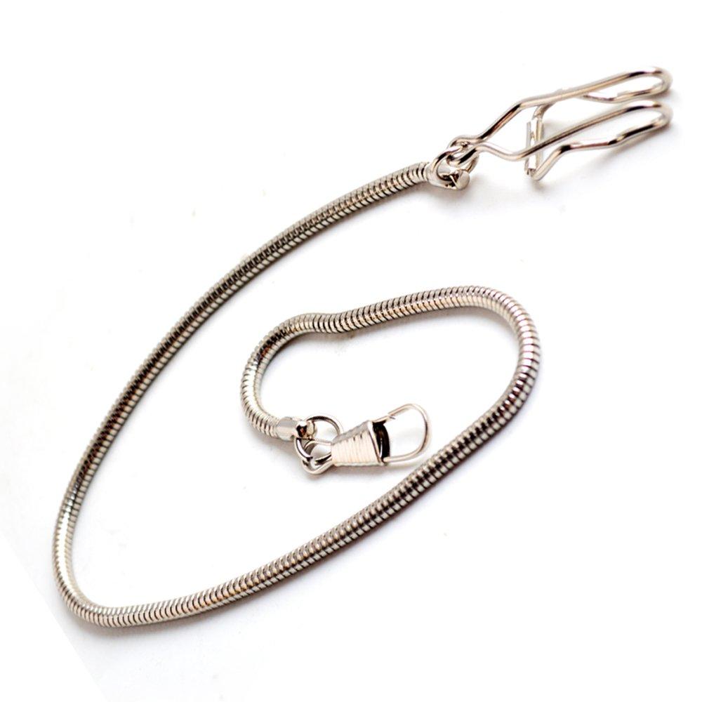 BOSHIYA Pocket Watch Double Albert Chain T-Bar Watch Chain