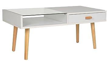 Ts Ideen Design Bodentisch Wohnzimmer Tisch Beistelltisch Glas Ablage  Kaffeetisch Anrichte Couchtisch Japanischer Stil 90