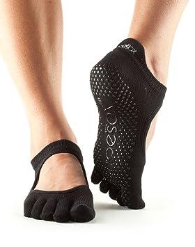 Calcetines antideslizantes para baile Toesox, se pueden utilizar para yoga, pilates y fitness: Amazon.es: Deportes y aire libre