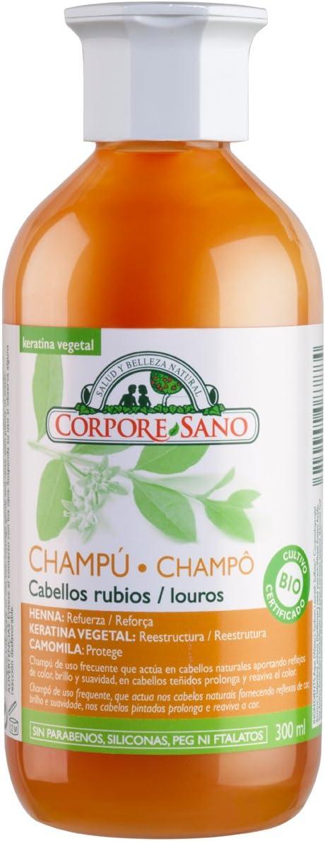 CHAMPU HENNA CAMOMILA 300 ml
