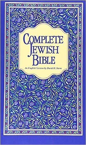 Complete Jewish Bible Pdf