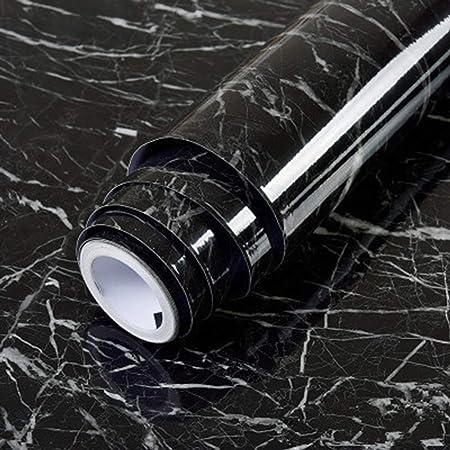 Weehey 0.5 M Patr/ón de M/ármol Resistente al Agua A Prueba de Humedad Desmontable Autoadhesivo Papel Pintado Y Pegamento PVC Pegatinas de Pared para la Sala de Estar Ba/ño Cocina Encimera 1#